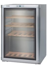 Bosch Wine Fridge for sale, fits 43 bottles, nearly new, 85x59x62cm, only £295 (retails for £549)