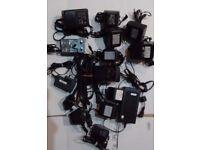 Mixed Job lot AC DC Power Adapters