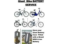 Giant ELECTRIC BIKE BATTERY SERVICE And Other Makes 24v 36v 48v
