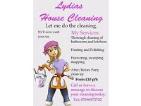 Lydias House Cleaning
