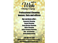 Wish Cleaning Company Professional Cleaning Houses, Flats and Offices 074 00 211 544