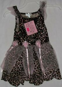 12 - 18 Months The Children's Place Leopard Dress / Costume