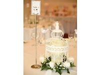 Wedding Table Decor Set- Birdcages