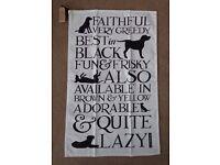 Emma Bridgewater Black Labrador Tea Towel