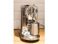 Nespresso by Sage Creatista Plus Coffee Machine in Stainless Steel