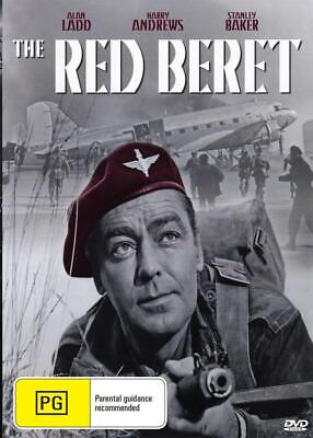 THE RED BERET - ALAN LADD - NEW & SEALED DVD FREE LOCAL POST - The Red Beret Movie