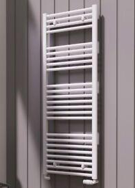 Flat Towel radiator (White)