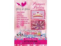 Children's Pamper Party