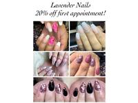 Nail extensions, nail overlays, gel polish