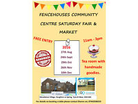 Monthly, Community Fair and Market ( Indoors) FREE ENTRY