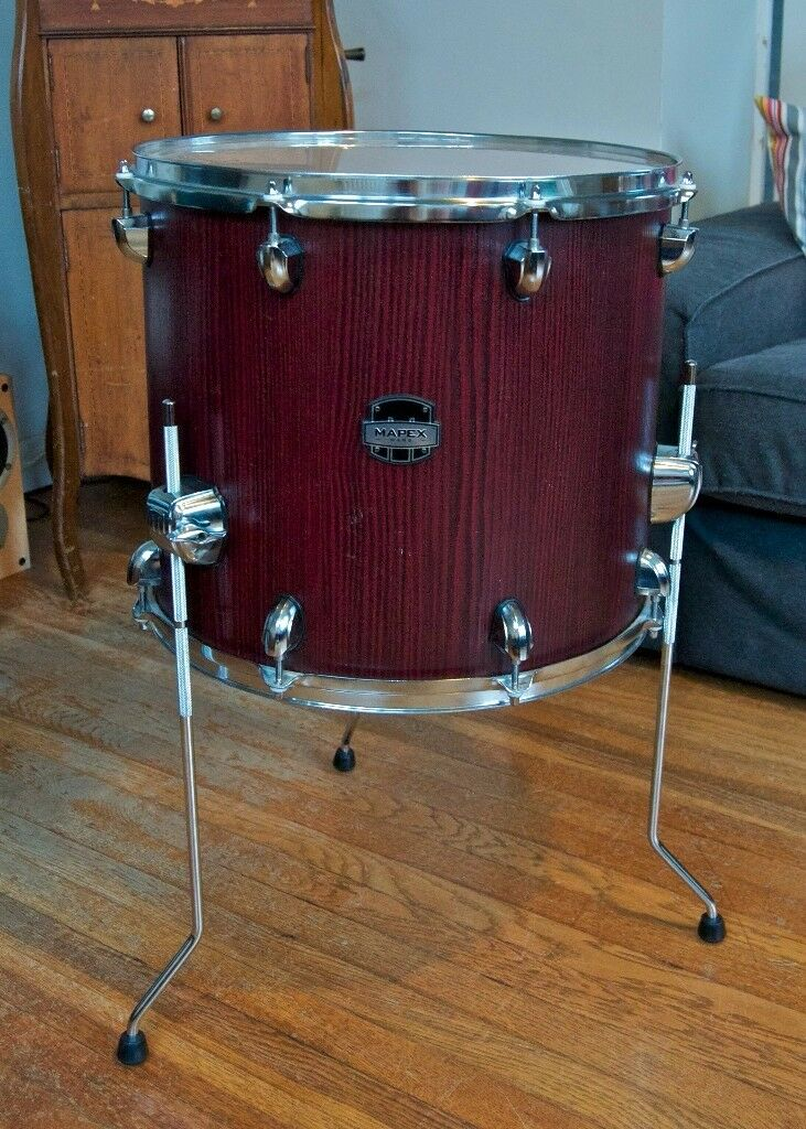 Mapex Mars Birch 16x14 floor tom in Bloodwood  Excellent condition (barely  used) | in Goring-by-Sea, West Sussex | Gumtree