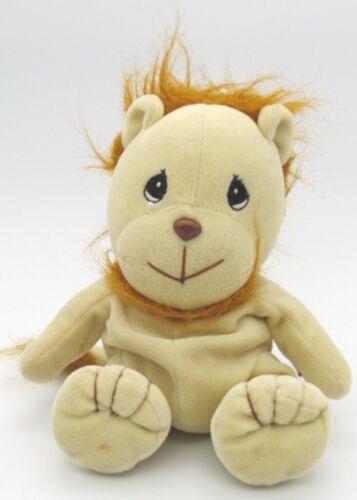 "Precious Moments TENDER TAILS Lion Beanbag Plush Stuffed Toy 1997 8"" tall"