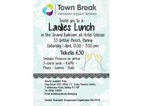 Ladies Lunch for Stirling dementia charity Town Break