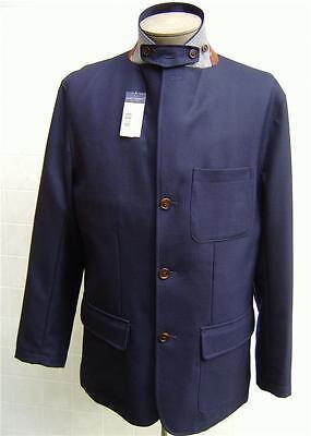 Daniel Cremieux Men's 100% Wool Hunt Coat Jacket Blazer Pocket Navy Blue L $250 Hunt Coat