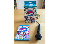 Sing Party Wii U game with microphone
