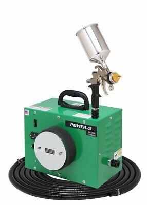 Apollo Power-5 Vs Turbine Paint Spray System With 7700gt-600cc Spray Gun - New