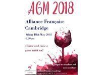 Annual General Meeting 2018 – Alliance Française Cambridge