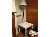 Small white IKEA Table
