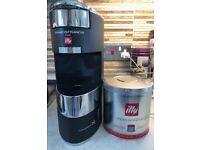 illy Iperespresso X9 single serve espresso machine with pods