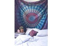 Stock clearance mandala wall hanging tapestries, table cover, bed spread, sofa cover multipurpose