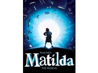 Matilda The Musical (sat 22nd oct 7.30pm)