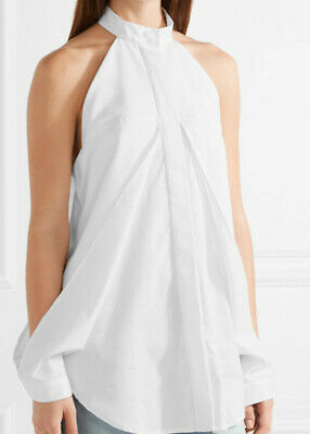 WOW! NEW Tags Dion Lee Cotton cutout top white sz US 4 $425