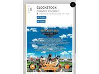 2 x ClockStock Tickets - Saturday 18th September - Chelmsford Racecourse