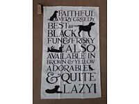 Emma Bridgewater Black Labrador Tea Towel