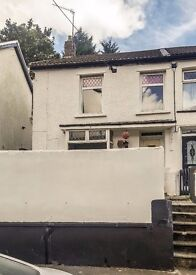 FOR RENT! A large 3-bedroom, end of terrace house on Cornwall Road, Tonypandy. £495 PCM.