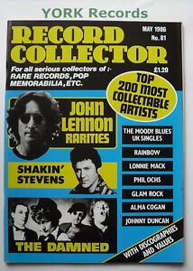 RECORD COLLECTOR MAGAZINE - Issue 81 May 1986 - John ...