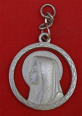 Vintage Religious Medallion Pendant