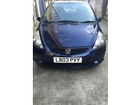 Honda Jazz automatic 2003 excellent condition only £950