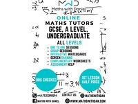 MWD TUTORS LONDON: ONLINE TUITION MATHS AND SCIENCE: QUALIFIED TUTORS, GCSE, A LEVEL, ALL LEVELS