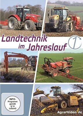Landtechnik im Jahreslauf, Teil 1  (NEU & OVP)