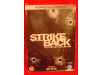 STRIKE BACK - SEASON 1-5 brand new/sealed in region 2