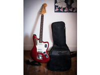 Fender Squier Vintage Modified Jaguar Electric Guitar - Candy Apple Red