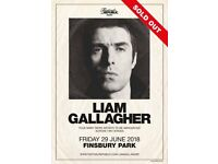 Liam Gallagher - Finsbury Park (4 tickets)