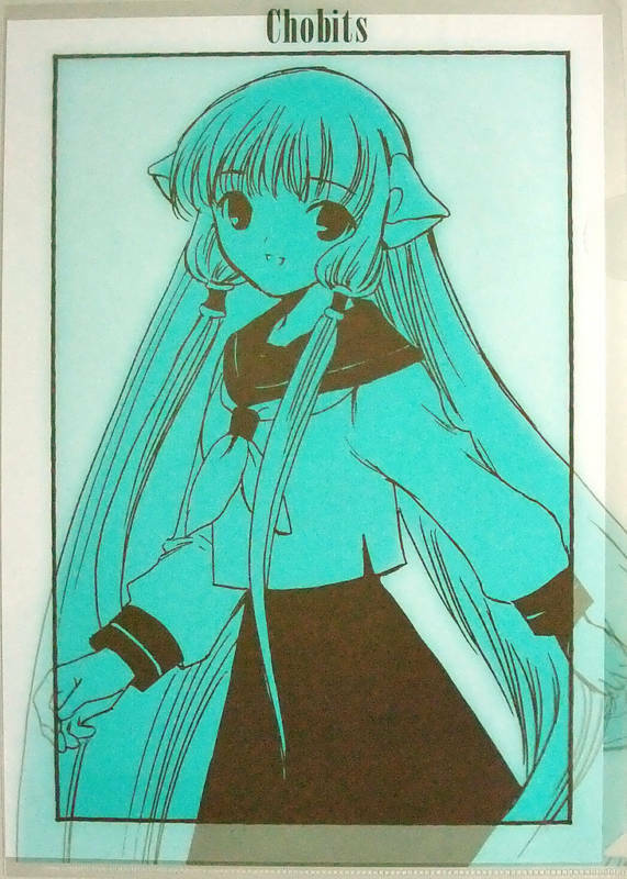 CLAMP Chobits clear file official anime
