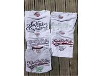 Superdry t-shirts XXL (x5)