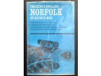 The King's England - Norfolk - Arthur Mee. Secondhand. Condition: Very Good.
