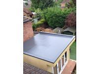 Fibreglass flat roof solutions