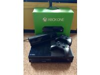 Xbox one with Kinect and games