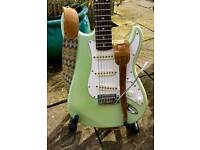 Upgraded Old Squier Stratocaster