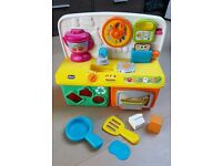 Toy Kitchen With Interactive Sounds / Light for Baby / Toddler (Made by Chicco)
