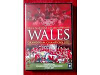 Wales Rugby 2012 Grand Slam DVD *Brand New * £2