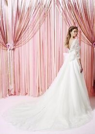 'The Charlotte' Bridal Wedding Dress/ Gown. BRAND NEW - with labels- viewing recommended