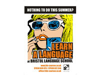 SUMMER Language Courses! Arabic French German Italian Japanese Russian Spanish English IELTS