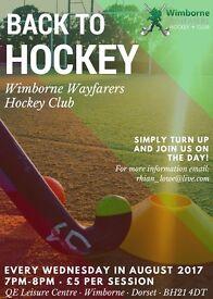 Back to Hockey 2017- Wimborne