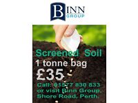 Screened Soil 1 tonne bag