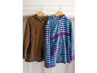 2 GAP kids zip-up hoodies (age 8-9)